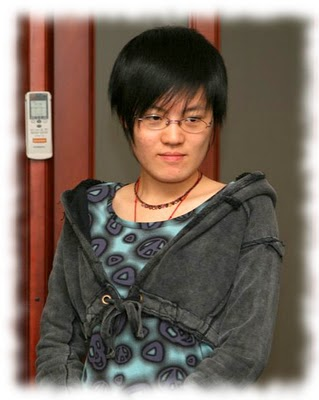 La campionessa del mondo Hou Yifan