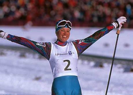 e infine l'indimenticabile sorriso di Manu a Lillehammer '94