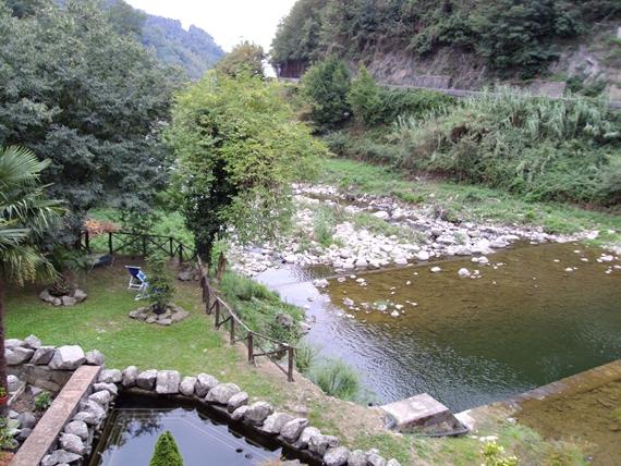 Il torrente Pescia