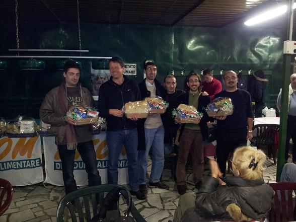 Pisa: Frugoli, Neubauer, Bolettieri, (Giannetti), Calcagnile e Rinaldi
