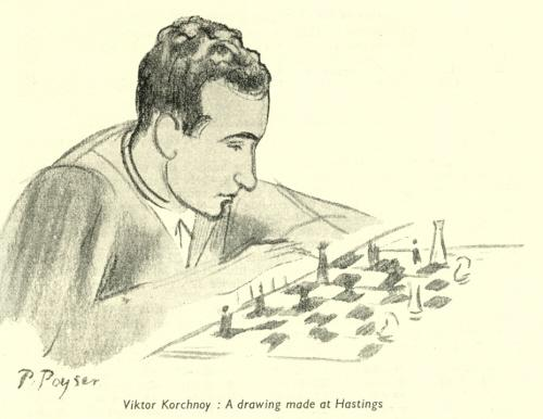 Korchnoi in Hastings
