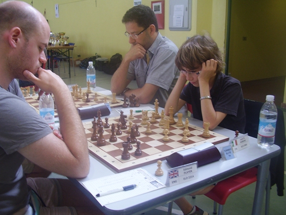 l'ancor più giovane Candidato Maestro Luca Moroni jr.