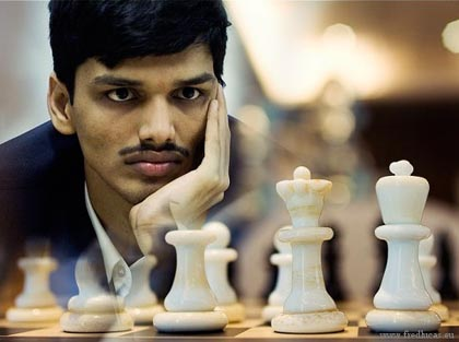 il GM Pentala Harikrishna vincitore per lo spareggio tecnico