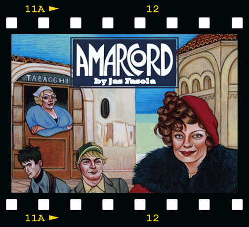 Amarcord by Jas Fasola