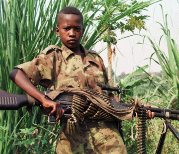 infanzia in Congo