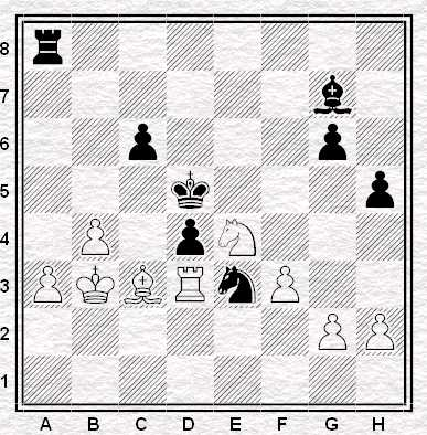 Caruana - Kramnik. Mossa al bianco