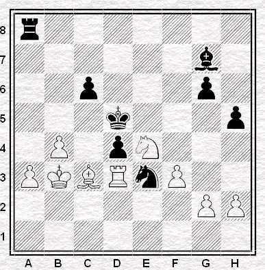Caruana - Kramnik. Mossa al bianco