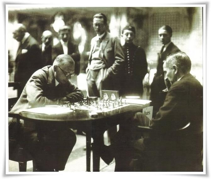 Kmoch Ahues Sanremo 1930