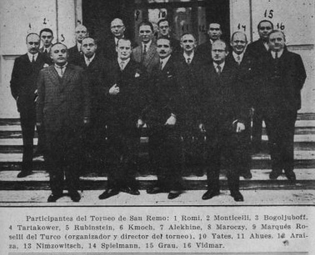 Sanremo 1930 i partecipanti 2