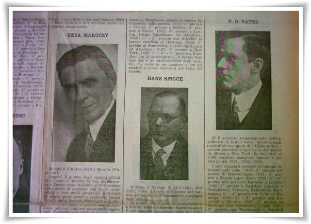 Sanremo 1930 il torneo dei giganti 1