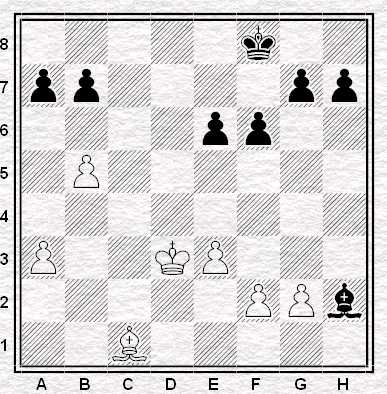 Spassky - Fischer. 29. .., Axh2;