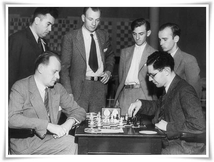 Isaac Kashdan il piccolo Capablanca 1
