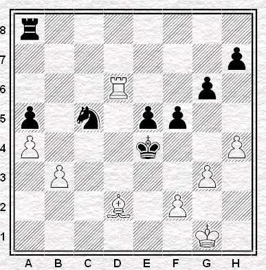 Esercizio 3: Muove il Bianco. Vale punti 3