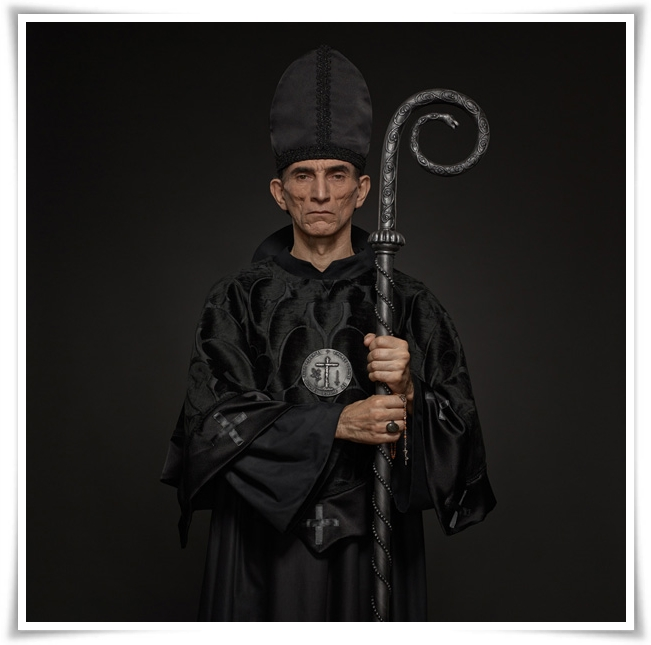 Chess Portraits - Bishop Black