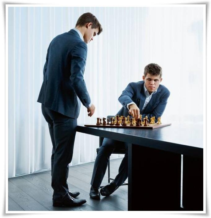 Magnus Carlsen 16