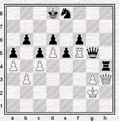 51...Txh4 e il Bianco abbandona