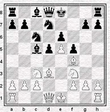 Il Nero ha appena giocato 8. … f5