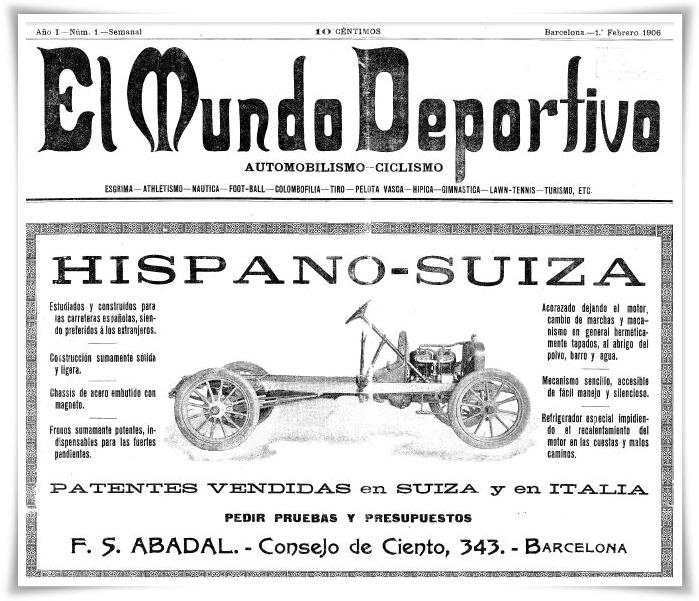 El Mundo Deportivo 1906