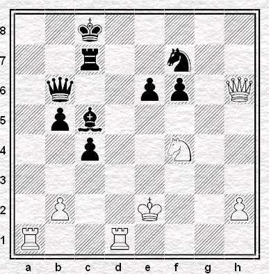 K. Sasikiran - M. Bartel, muove il Bianco