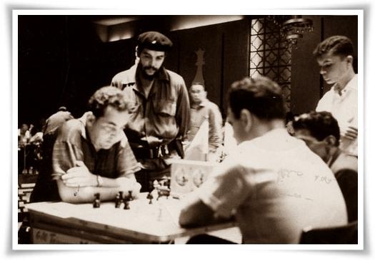 il Che, Taimanov e Larry Evans