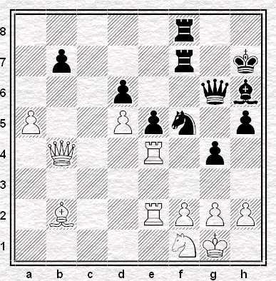 Posizione dopo 32.Db4