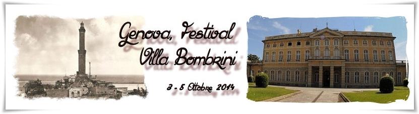 Genova, Festival Villa Bombrini
