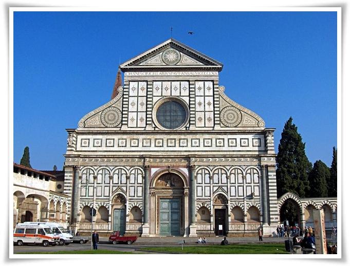FIG 1_Santa_Maria_Novella_facciata restaurata nel marzo 2008