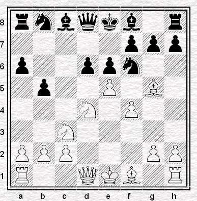 Posizione dopo 8.e5