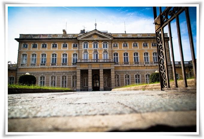 Villa Bombrini in Bianco e Nero 21