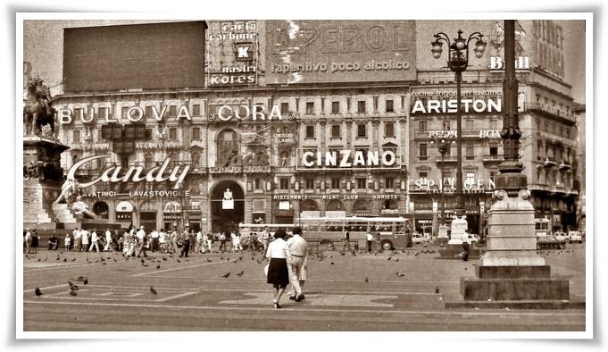 Milano Piazza Duomo 1975