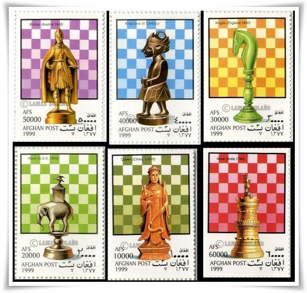 sellos de ajedrez