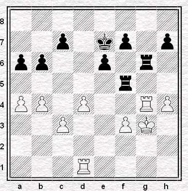 Posizione dopo 39...b6!