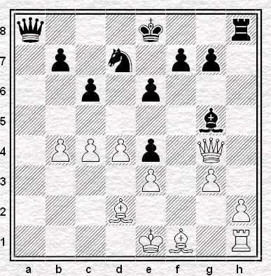 Posizione dopo 18.Dg4