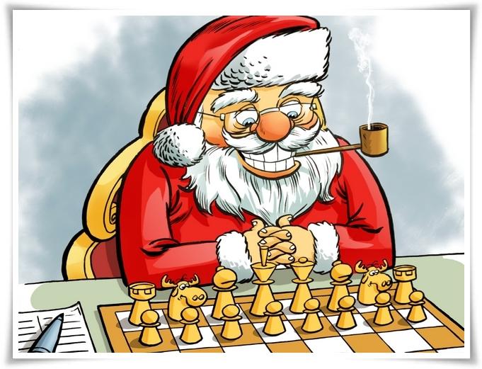 Christmas Chess 04