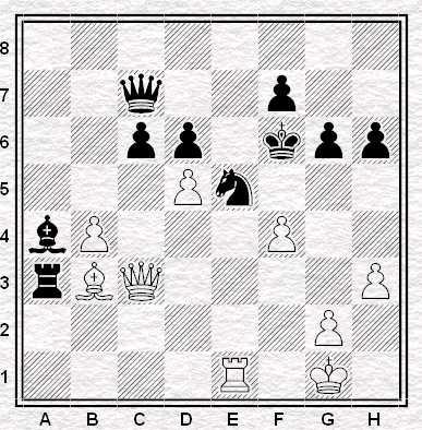 Esercizio 5 - Muove il Bianco - Vale 4 punti