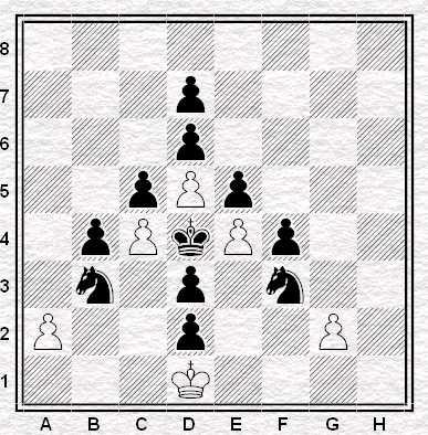 Esercizio 7 - Muove il Nero - Vale 3 punti
