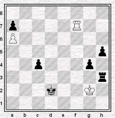 Solodovnichenko vs Santolini, Padova 2012, posizione dopo 61.Rg2