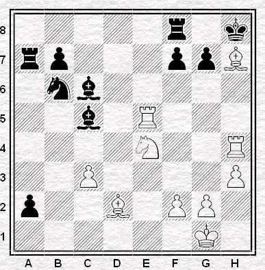 Esercizio 1 - Muove il Bianco - Vale 2 punti