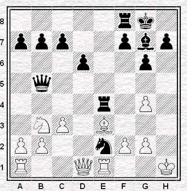 Esercizio 4 - Muove il Nero - Vale 3 punti