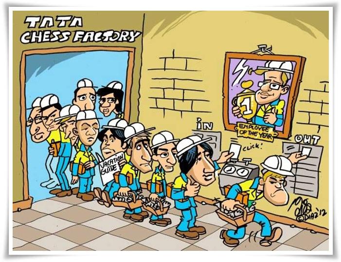 Tata chess factory