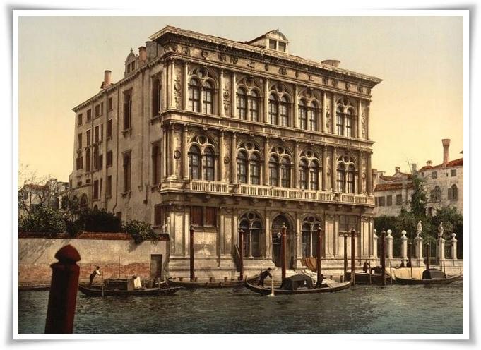 Venezia - Palazzo Vendramin - Calergi