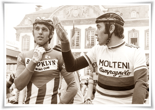 De Vlaeminck e Merckx