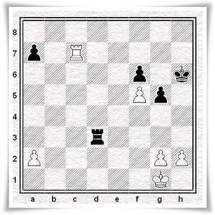 Moroni vs. Basso, posizione dopo 36...Rh6