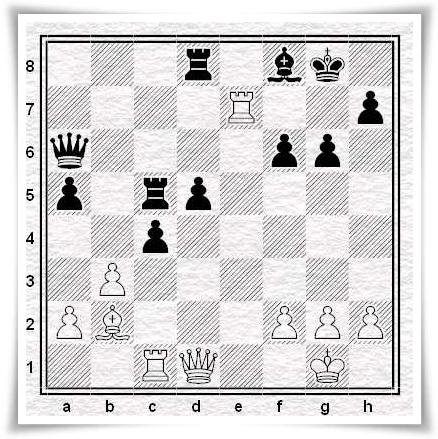 Ortega - Moroni, posizione dopo 26...Af8