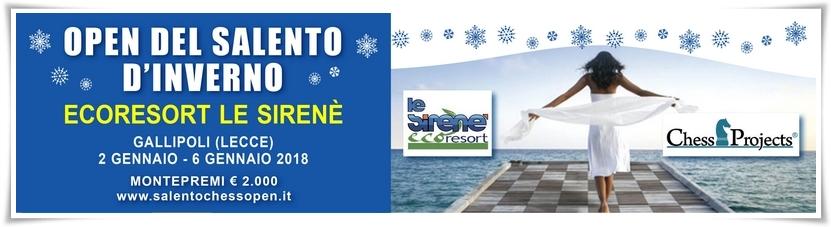 Open del Salento d'Inverno 2018